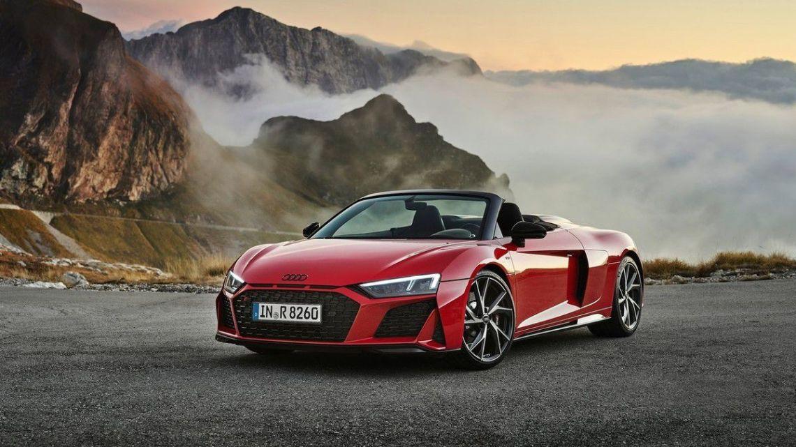 Audi R8 Spyder 2020 porte son statut de supercar au niveau supérieur