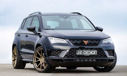 JE Design Cupra-Ateca Widebody Evolution 2019