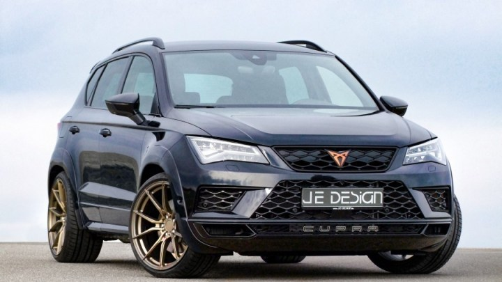 JE Design Cupra-Ateca Widebody Evolution 2019 – Moteur de 360 ch
