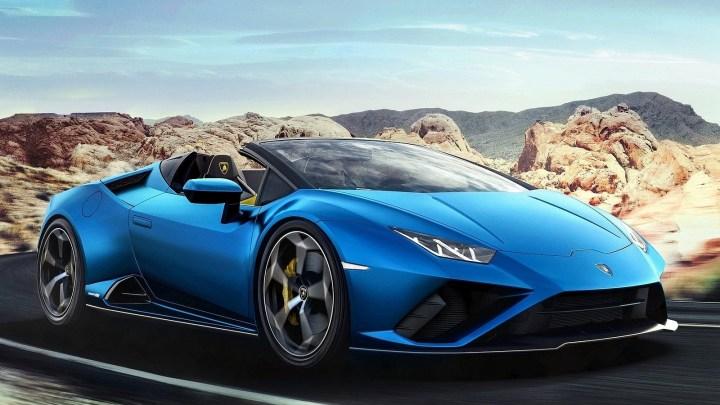 Lamborghini Huracan EVO RWD Spyder 2021 – La propulsion décapsulée