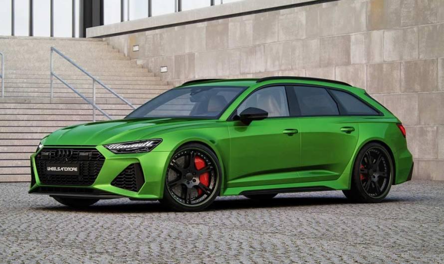 Wheelsandmore Audi RS6 Avant 2020 – Équipée d'un V8 de 4,0 litres à deux turbines