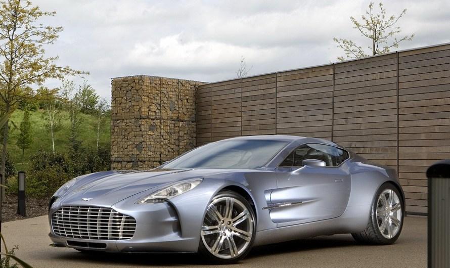 Aston Martin One-77 – Elle incarne toute la technologie Aston Martin