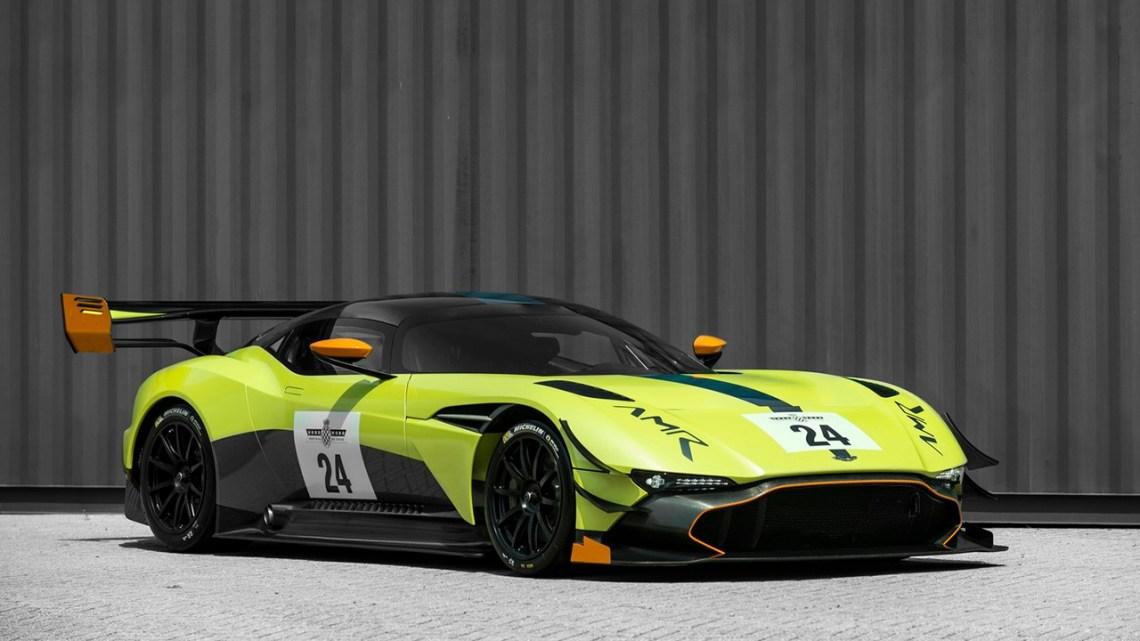 Aston Martin Vulcan AMR Pro la voiture de piste la plus extrême au monde