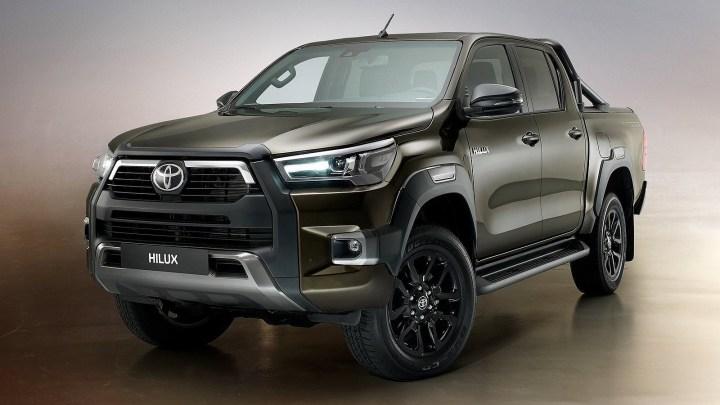 Toyota Hilux 2021 – Nouveau visage et moteur plus puissant