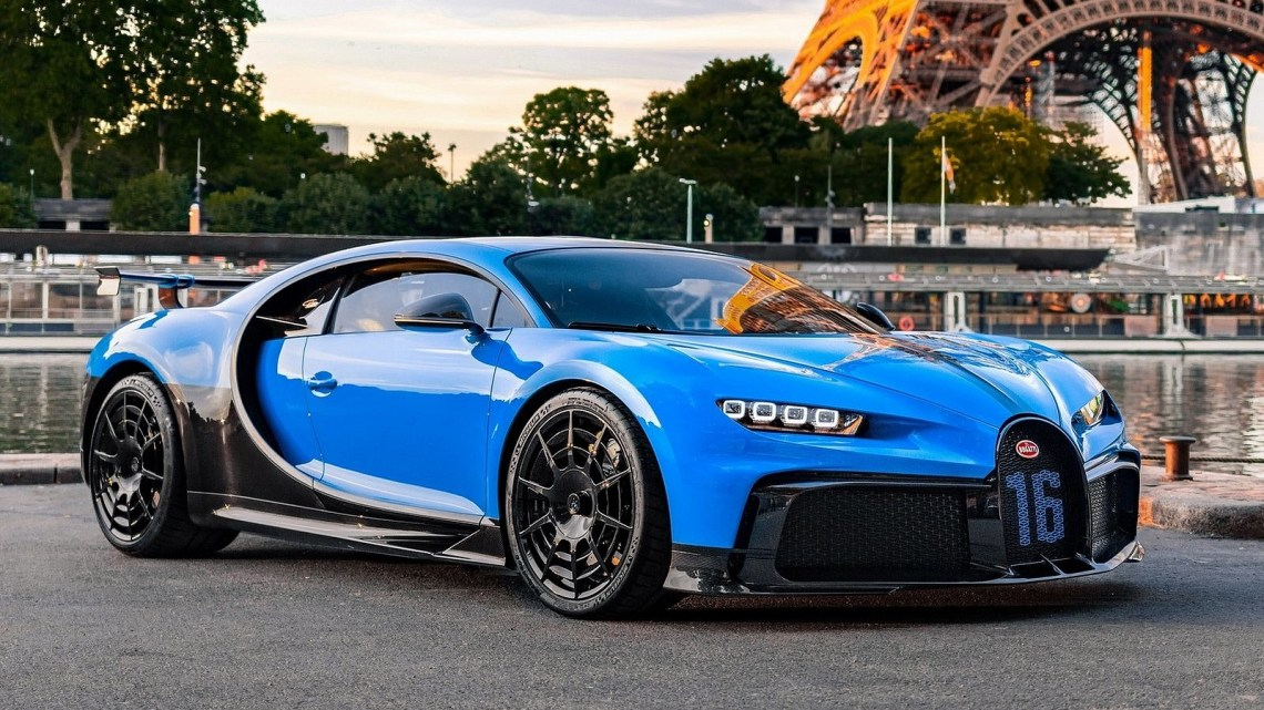 Bugatti Chiron Pur Sport 2021 – Nouveau développement de transmission