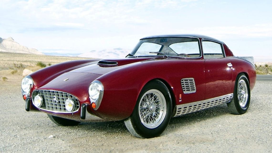 Ferrari 410 SuperAmerica Scaglietti Boano 1957 – Superbe design unique
