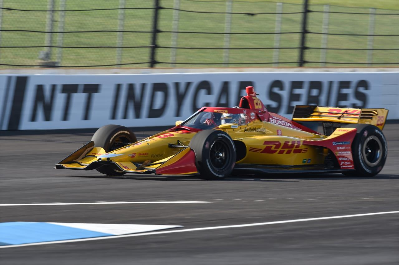 Indycar 2020 - Ryan Hunter