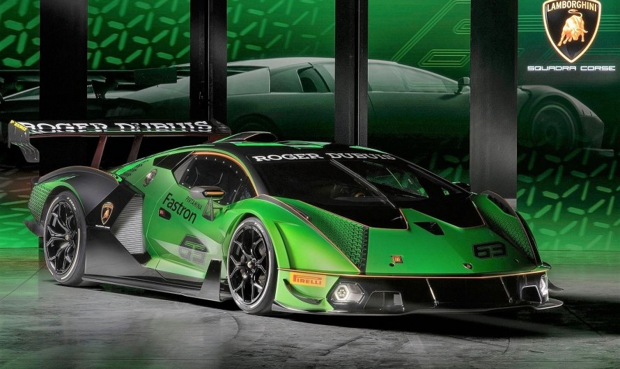 Lamborghini Essenza SCV12 2021 – Elle est propulsé par un moteur V-12