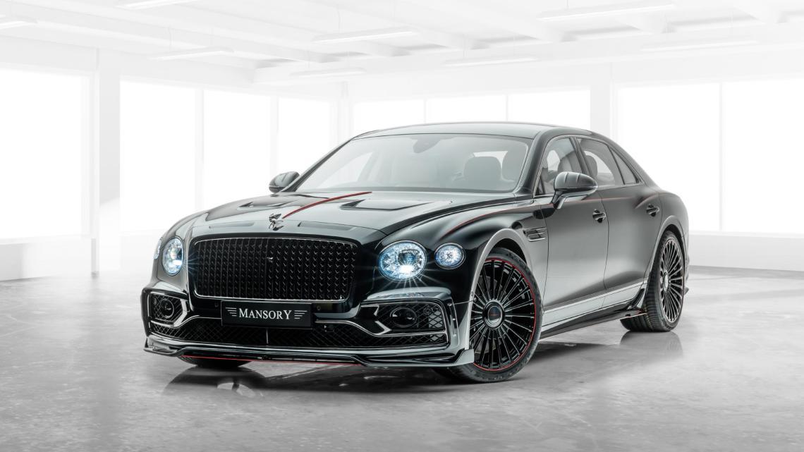 Mansory Bentley Flying Spur V12 2020 équipée d'un moteur W12 biturbo