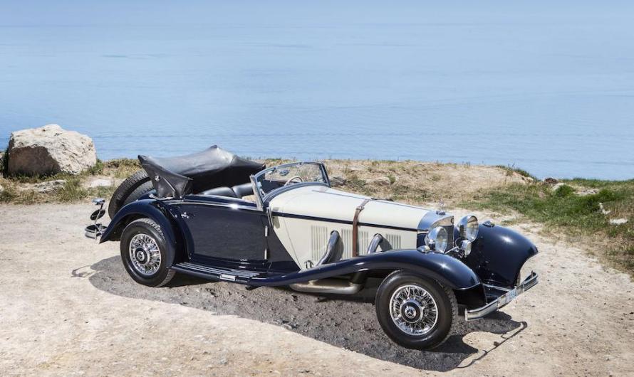 Mercedes 540 K Cabriolet A 1936 – La calandre en V reculée du pare-chocs avant!