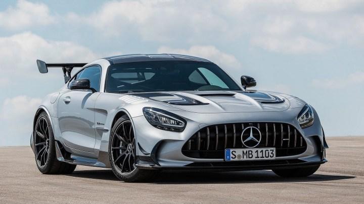 Mercedes-AMG GT Black Series 2021 – Le V8 AMG le plus puissant