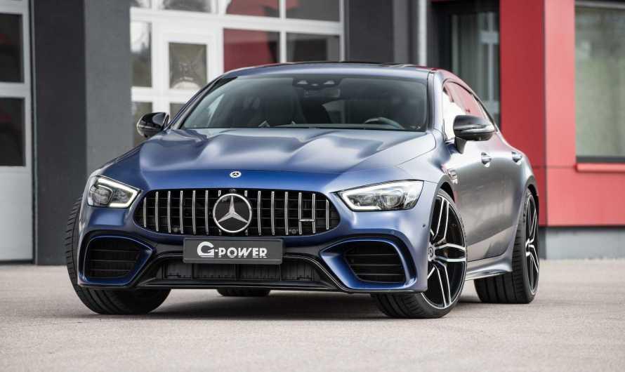 Mercedes AMG GT 63 G-Power 2020 – Le coupé 4 portes de 789 chevaux