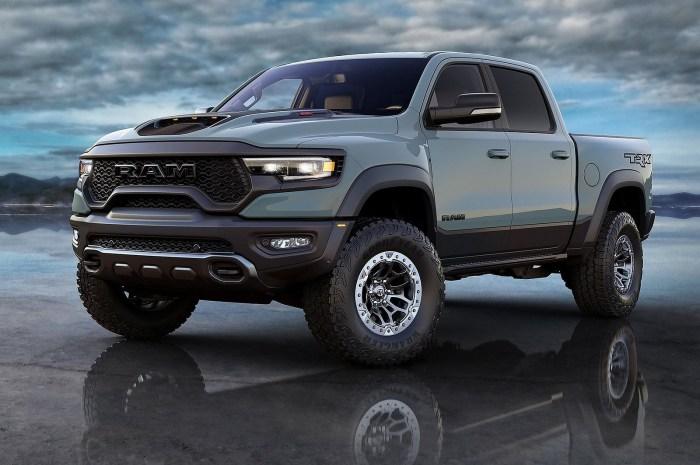Ram 1500 TRX 2021 – Le nouveau prédateur suprême des camionnettes