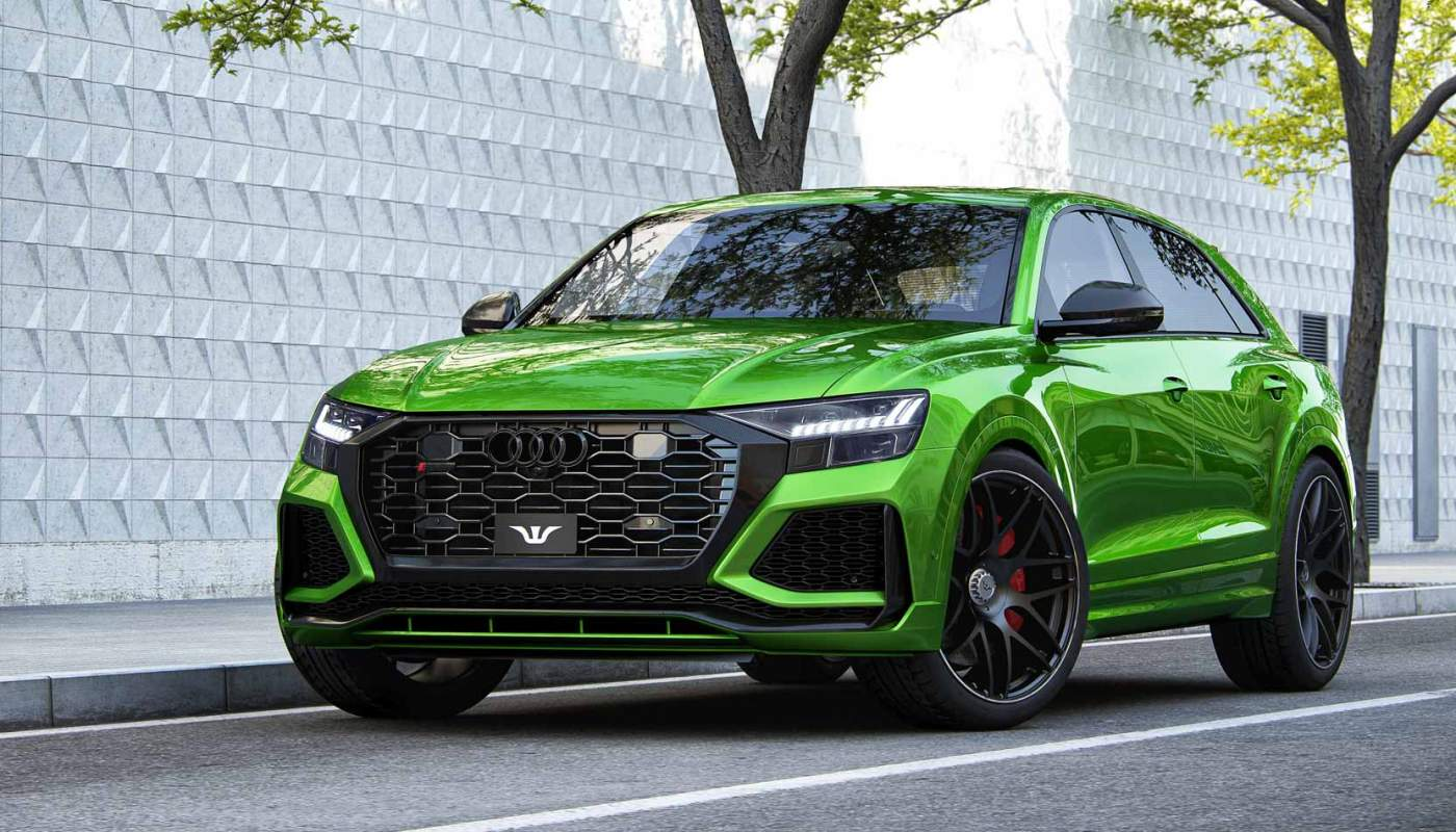 Audi RS Q8 Goliath Wheelsandmore 2020