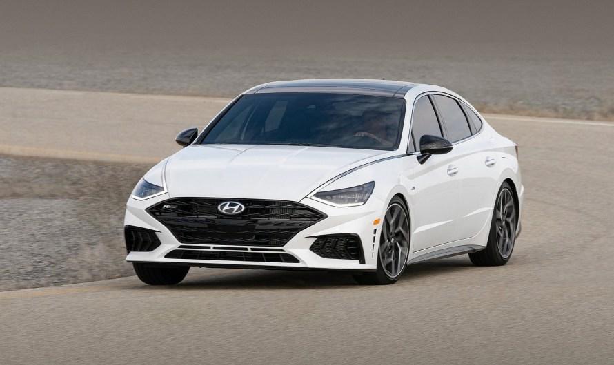 Hyundai Sonata N Line 2021 – Une allure plus puissante