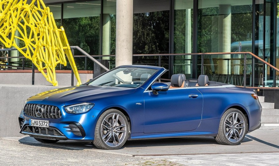 Mercedes AMG E53 Cabriolet 2021 – Une nouvelle génération de conduite en plein air.