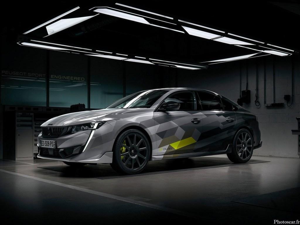 Peugeot 508 PSE 2021 – L'hybride rechargeable associe un moteur essence et deux moteurs électriques