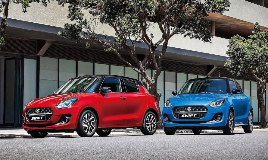 Suzuki Swift 2021 – Améliorations de la sécurité et de l'apparence