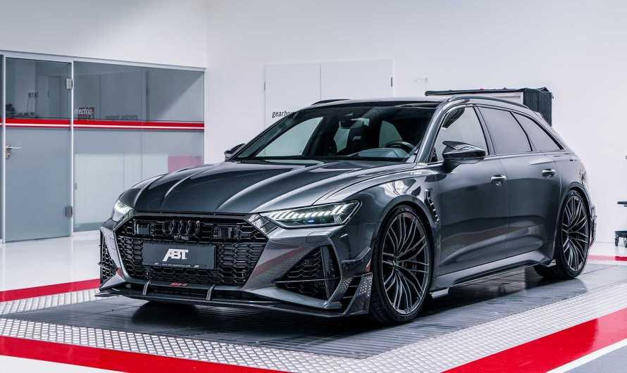 Audi RS6 R ABT Sportsline 2020 – Conception, dynamique latérale et longitudinale