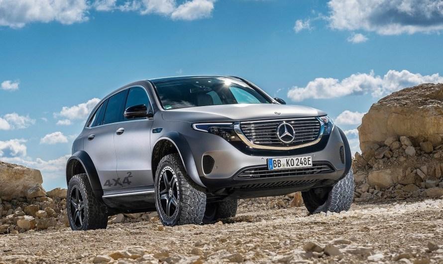 Mercedes EQC 4×4² Concept 2020 est unique et peu susceptible d'arriver en production
