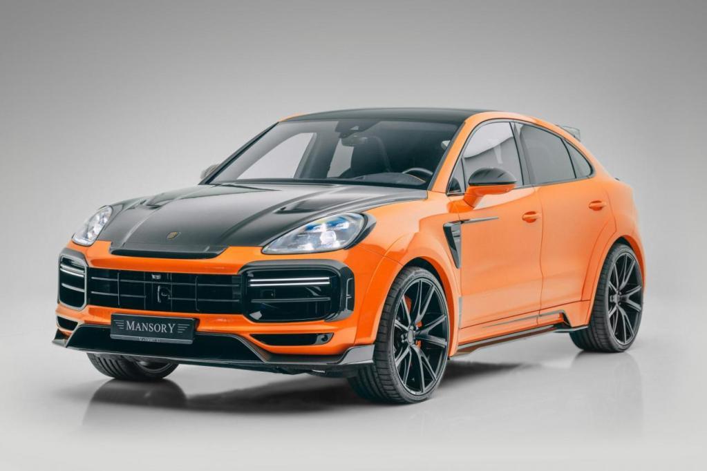 Porsche Cayenne Coupé Mansory 2021 – Une bête de 700 ch