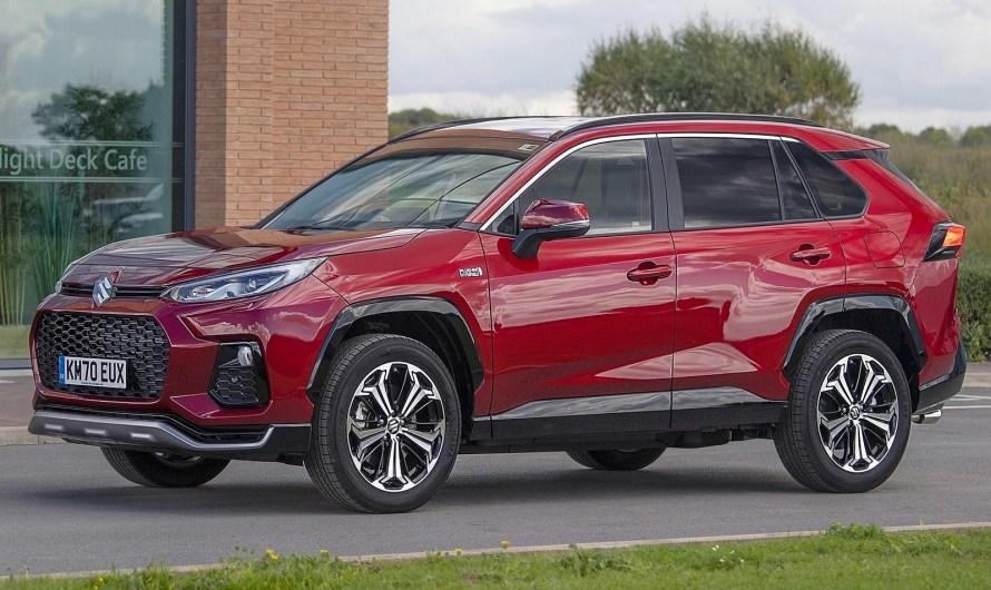 Suzuki Across 2021 – Six couleurs de carrosserie au choix