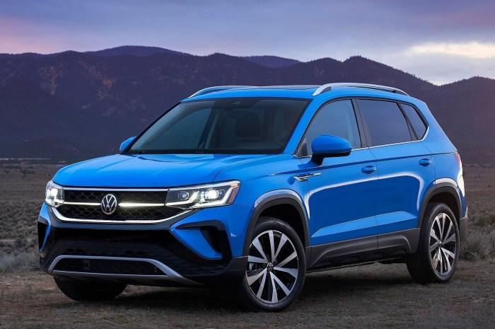 Volkswagen Taos 2022 – Le tout premier SUV sous-compact de VW