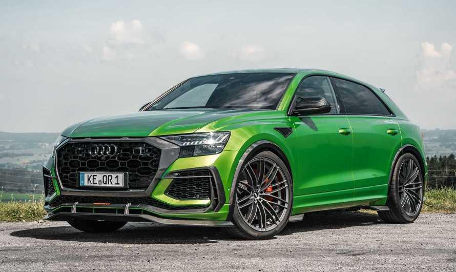 ABT Audi RSQ8 R 2020 – Elle est si rapide qu'elle peut affronter de nombreuses supercars.