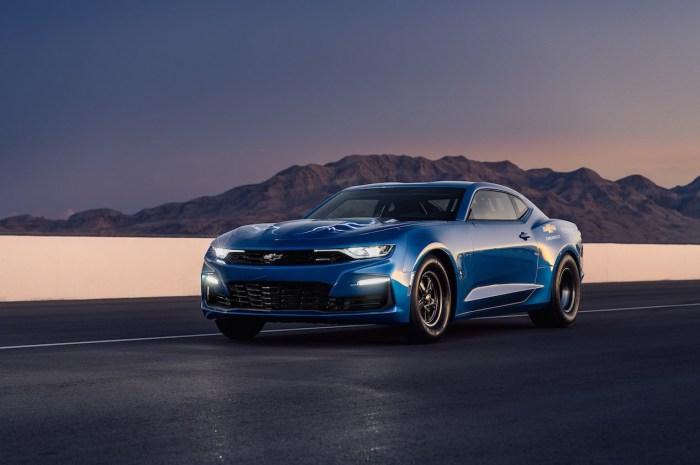 Chevrolet eCOPO Camaro Concept – Un moteur électrique qui produit plus de 700 CV