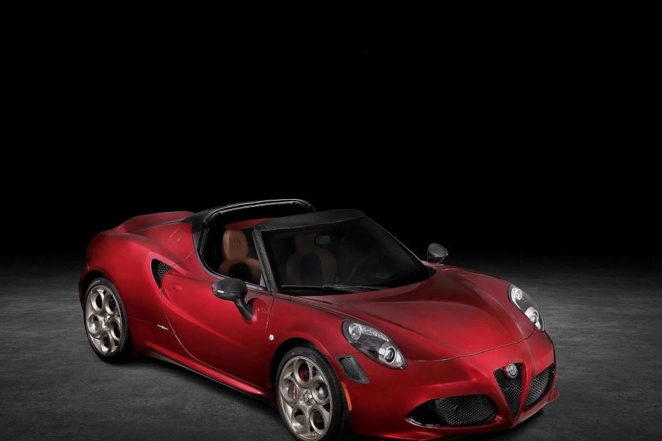 Alfa Romeo 4C Spider 33 Stradale Tributo 2020