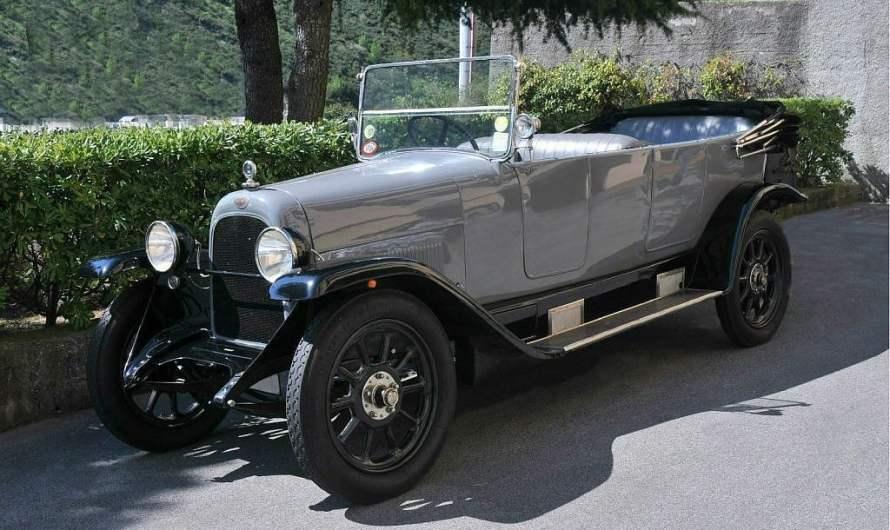 Fiat 510 Torpedo 1923 – Elle appartenait au roi Vittorio Emanuele III jusqu'en 1929