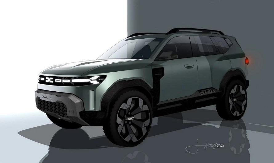 Dacia Bigster Concept 2021 – Un SUV robuste haut de gamme