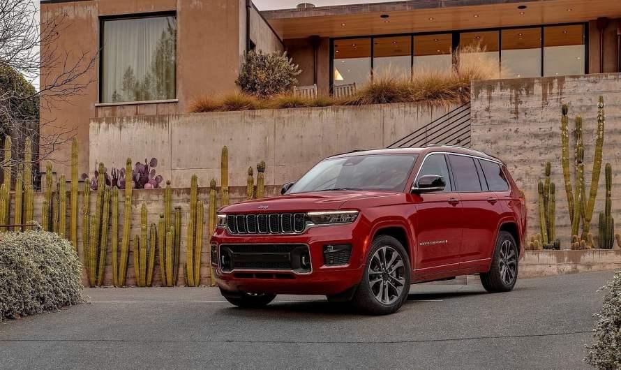 Jeep Grand Cherokee L 2021 – Intérieur moelleux avec luxe et technologie abondants