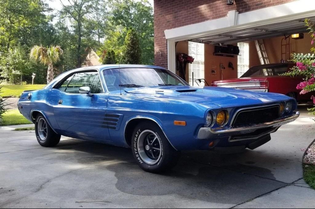 Dodge Challenger Rallye 1972 – Lancée pour remplacer la R/T