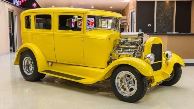 Ford modèle A Fordor Sedan Street Rod 1929