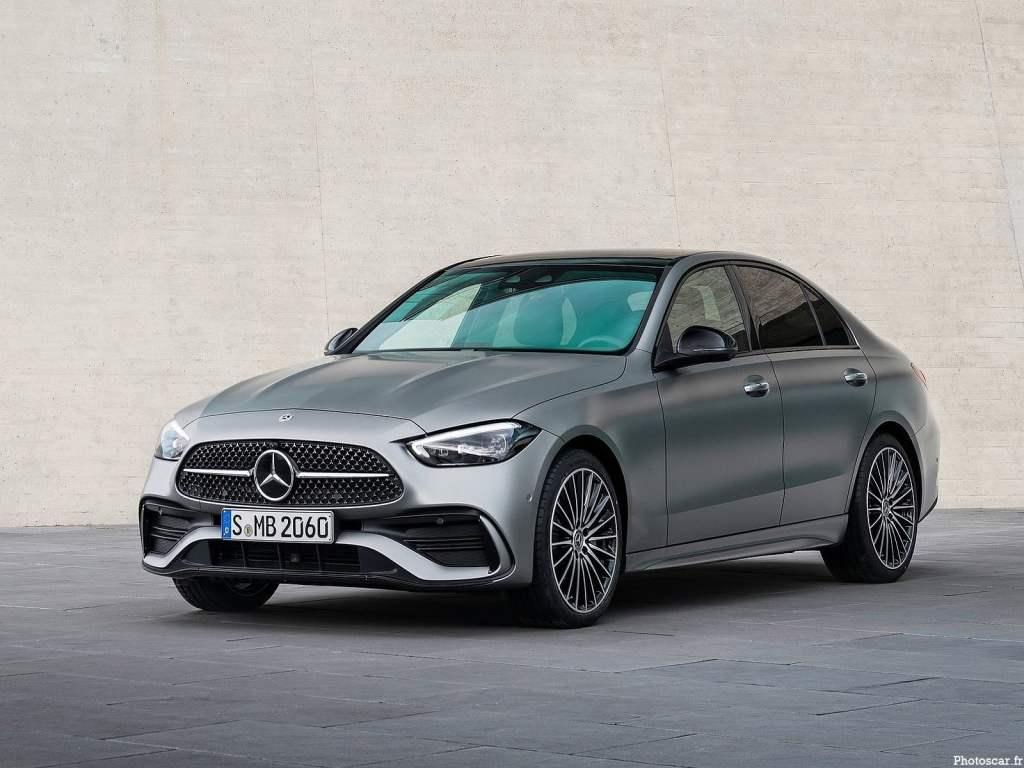 Mercedes Benz Classe C 2022 – Un design intérieur sportif et une Classe élégante