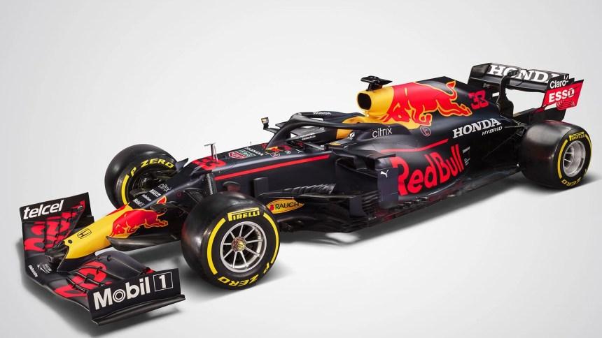 RB16B Red Bull 2021