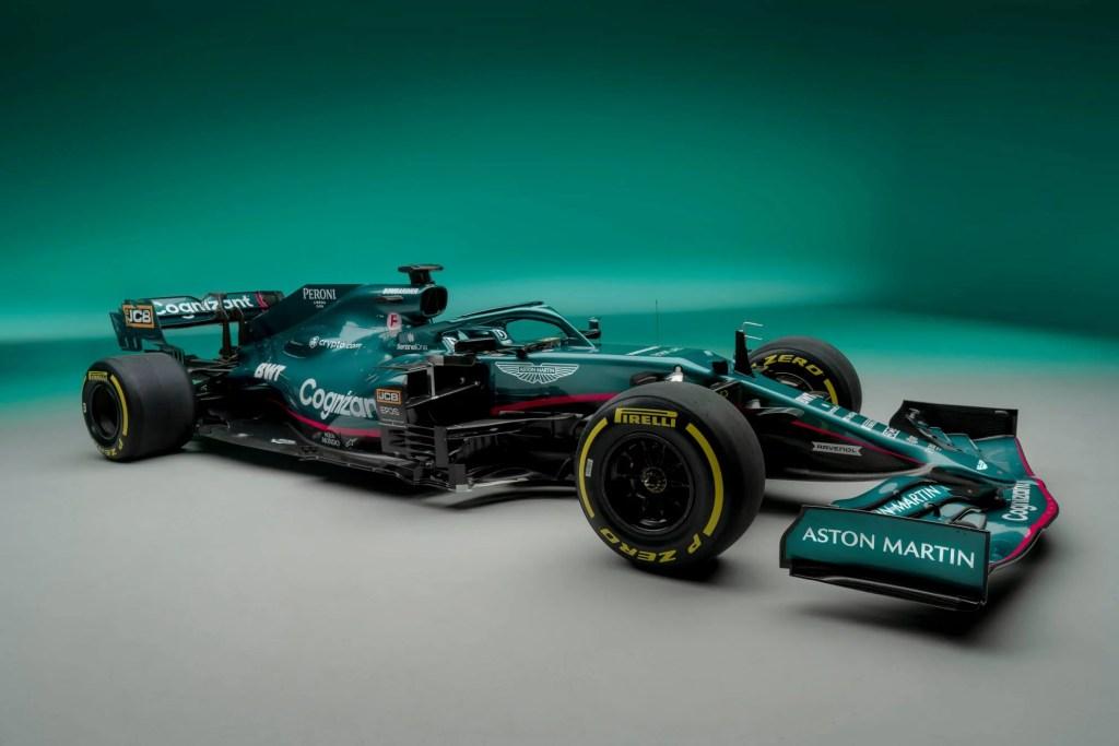 Aston Martin AMR21 – Pour la saison de Formule 1 2021