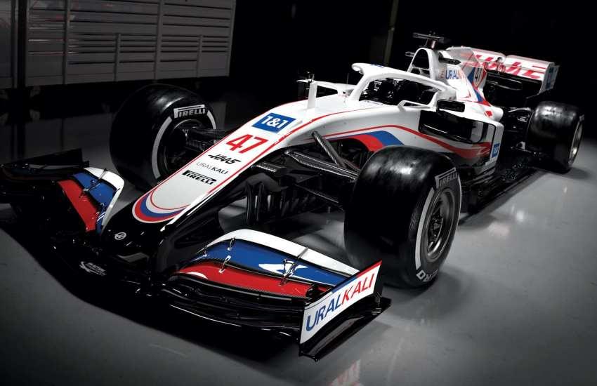 Haas VF21 F1 2021