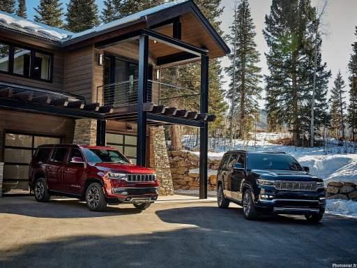 Jeep Wagoneer et Grand Wagoneer 2022
