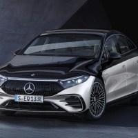 Mercedes Benz EQS 2022 - Un Nouveau Look