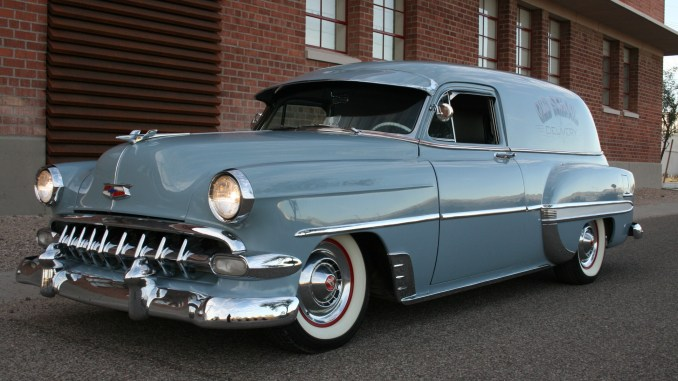 Chevy Delivery Custom 1954