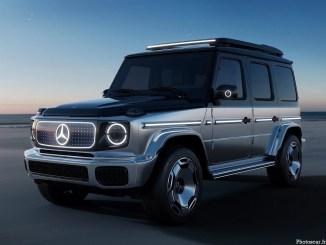 Mercedes Benz EQG Concept 2021