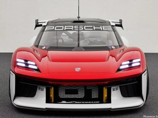 Porsche Mission R Concept 2021