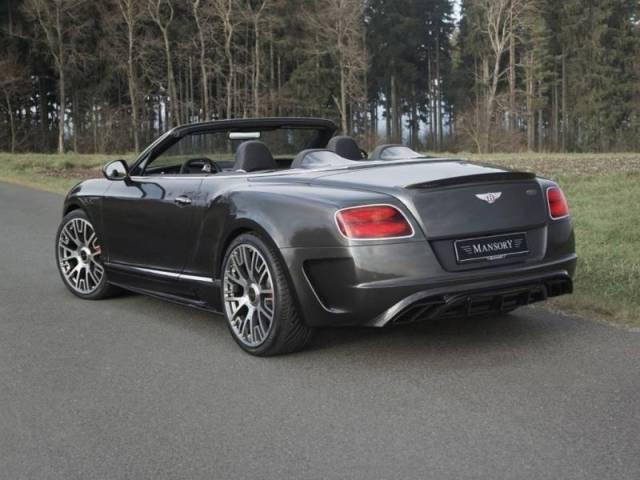 2015 Mansory - Bentley Continental GT Cabriolet Edition 50
