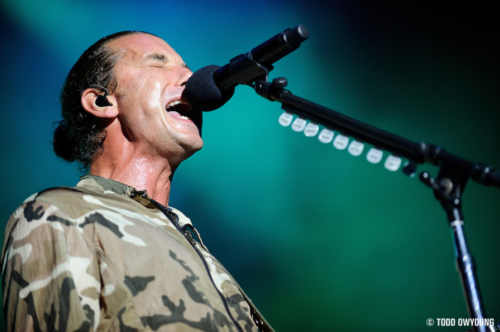 performing at Pointfest at Verizon Wireless Amphitheater in St. Louis on August 20, 2011. © Todd Owyoung. (Todd Owyoung)