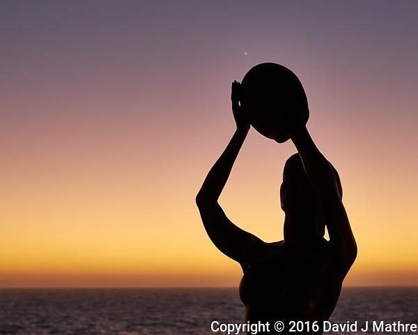 Catching Venus at Dawn. Image taken with a Fuji X-T1 camera and 35 mm f/1.4 lens. (David J Mathre)