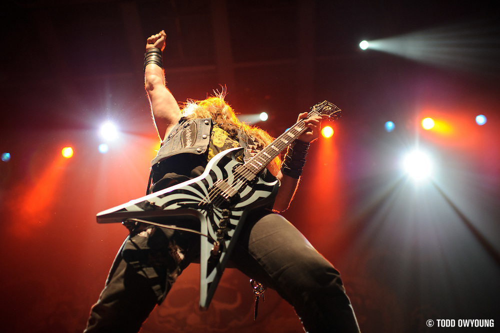 Photos of Black Label Society performing at the Pageant in St. Louis on June 1, 2011. (Todd Owyoung)