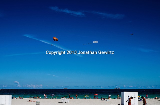 People engaged in a wide variety of beach activities. (Jonathan.Gewirtz@gmail.com)