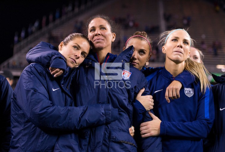Seattle, WA - October 20, 2015:  The USWNT tied Brazil 1-1 during the USWNT Victory Tour at CenturyLink Field. (Brad Smith/isiphotos.com)